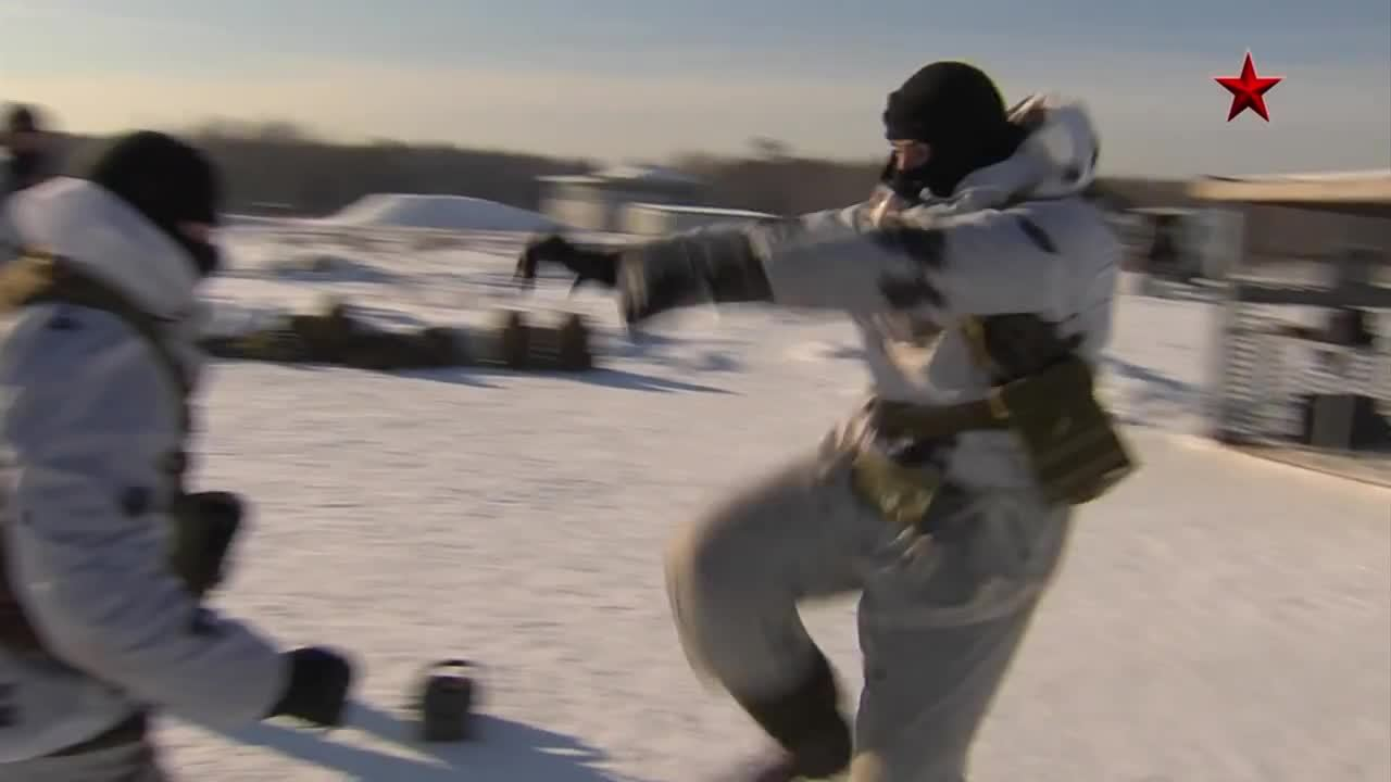 militarygfys, Getting physical with Spetsnaz GIFs