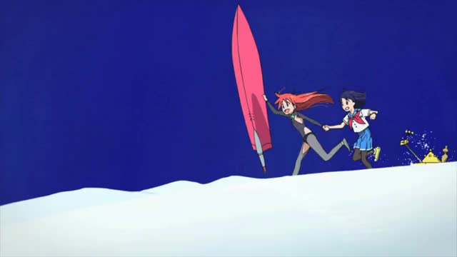 Watch and share Flip Flappers GIFs by Adrian Jansen on Gfycat