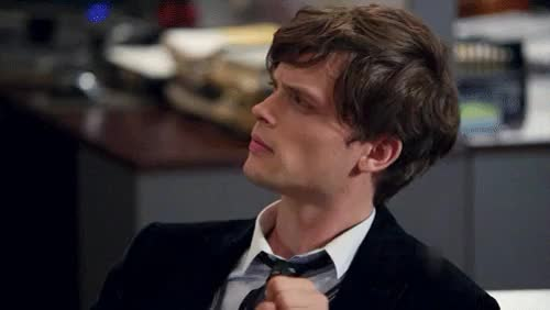 Watch and share While At Work Reid GIFs and Criminal Minds GIFs on Gfycat