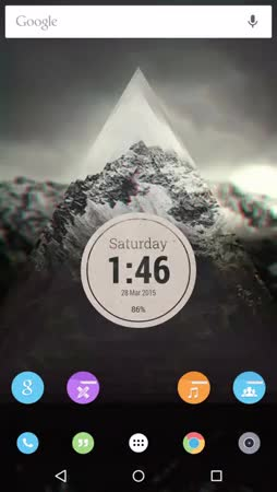 Watch and share Paper Circles [KLWP] GIFs by imward on Gfycat