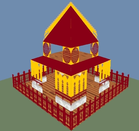 daily3d, Temple GIFs