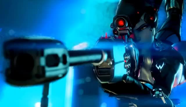 Watch and share Widowmaker Particles Effect; Overwatch GIFs on Gfycat