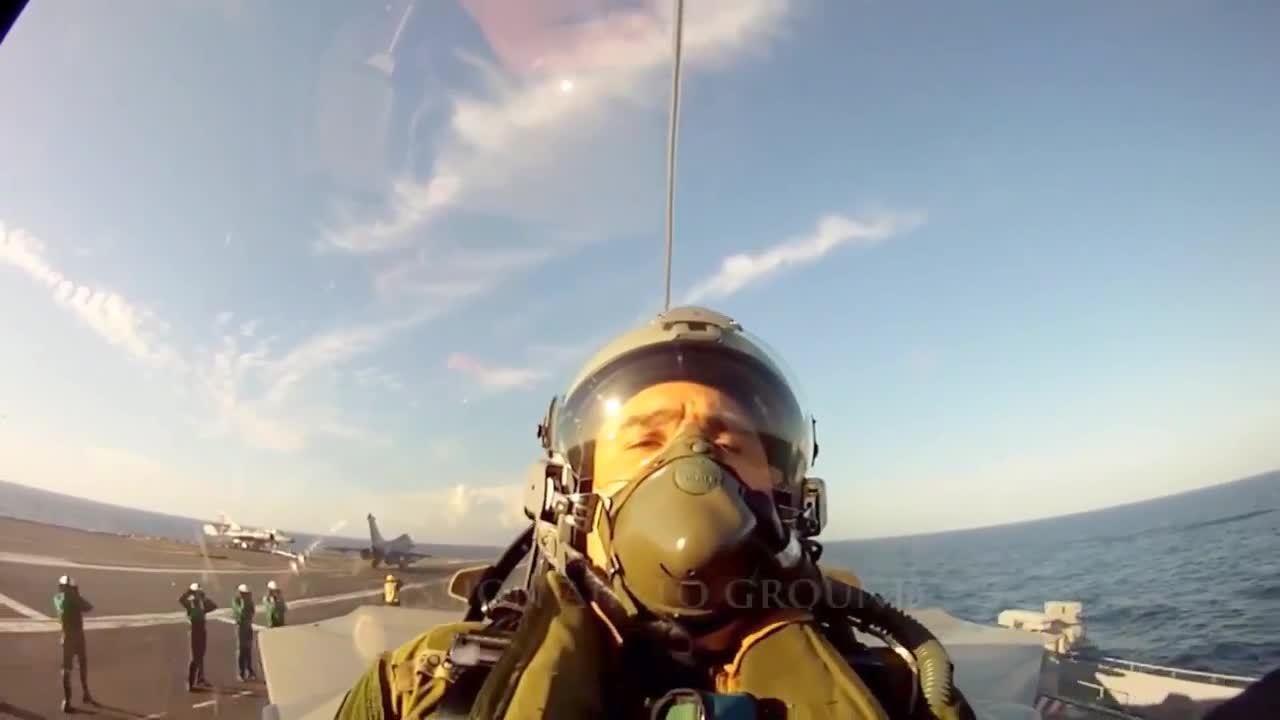 militarygfys, Rafale carrier launch (reddit) GIFs
