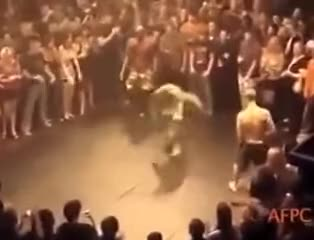 Watch Dancing Boxer gets knocked out GIF on Gfycat. Discover more related GIFs on Gfycat