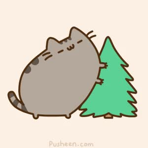 Watch this christmas GIF by GIF Queen (@ioanna) on Gfycat. Discover more cat, christmas, cute, funny, holidays, nails, pet, pusheen, scratch, tree, xmas GIFs on Gfycat