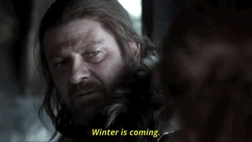 Watch and share Winter Is Coming GIFs and Game Of Thrones GIFs on Gfycat
