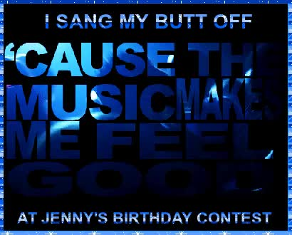 Watch and share Bonus Song !!! Happy Birthday Jenny! GIFs on Gfycat