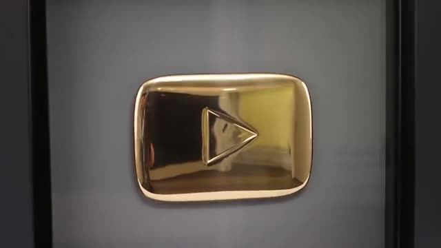 Watch and share GOLD PLAY BUTTON - WHAT INSIDE? GIFs on Gfycat