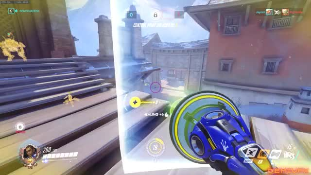 Watch and share 60fpsgifs GIFs and Overwatch GIFs by D3M1G0D on Gfycat