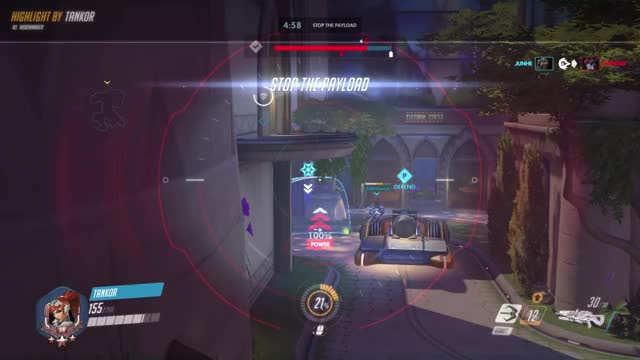 Watch and share Highlight GIFs and Overwatch GIFs by tankor on Gfycat