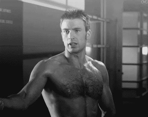 celebs, chris evans, naked, chris evans naked GIFs