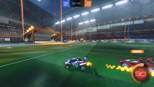Watch Goal 5: Edgar Schmitt GIF by Gif Your Game (@gifyourgame) on Gfycat. Discover more Edgar Schmitt, Gif Your Game, GifYourGame, Goal, Rocket League, RocketLeague GIFs on Gfycat