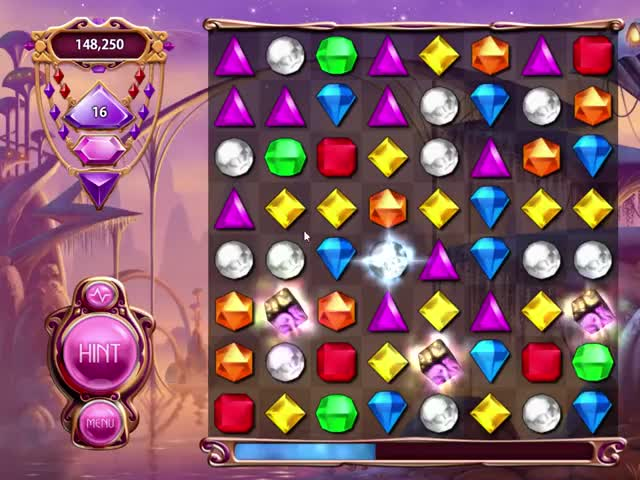 Bejeweled 3 - BET II (BoggY's Elite Technique) example