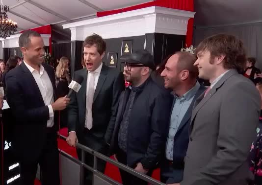 Watch and share Grammys GIFs and Okgo GIFs by Vera Yuan on Gfycat
