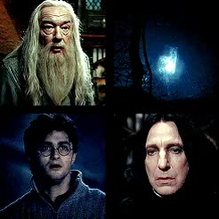 Watch and share Michael Gambon GIFs and Severus Snape GIFs on Gfycat