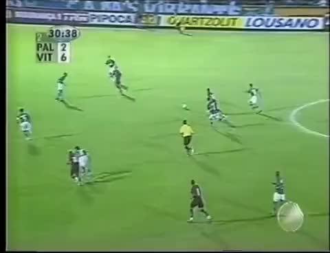 Watch and share Palmeiras 2 X 7 Vitória - Copa Do Brasil De 2003 GIFs on Gfycat