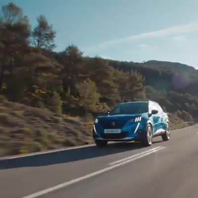 Watch and share Blue Car GIFs and Peugeot GIFs by Diamond Garden on Gfycat