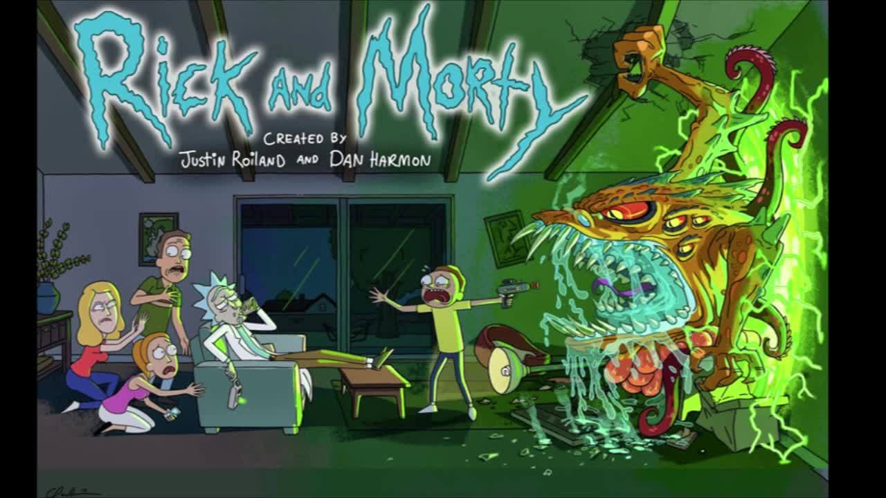 rickandmorty, this guy literally traced the original (reddit) GIFs
