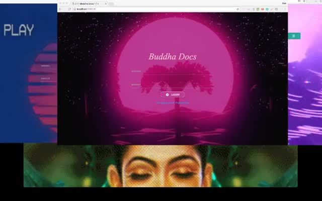 display buddha docs