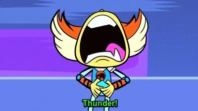 Watch and share Thunder! Thunder! ThunderCats Blargh!! GIFs on Gfycat