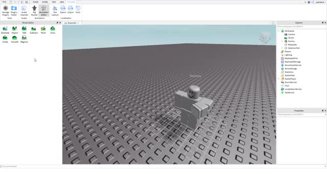Watch and share Baseplate - Roblox Studio 2562-11-09 18-51-00 GIFs by serusc on Gfycat