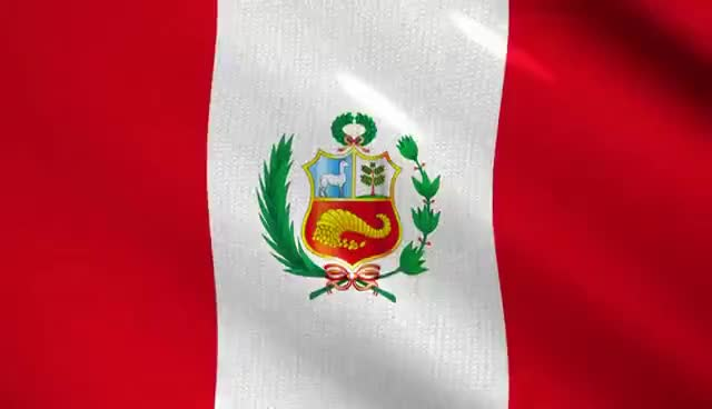 Watch and share Bandera Del Perú Video Background - Fondo De Video GIFs on Gfycat
