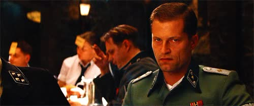 Watch this inglourious basterds GIF on Gfycat. Discover more inglourious basterds, til schweiger GIFs on Gfycat