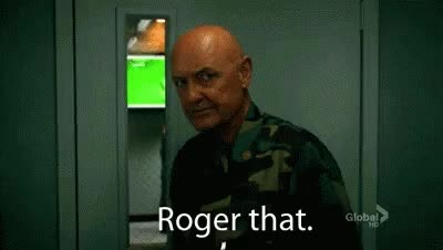 Watch and share Roger That GIFs on Gfycat
