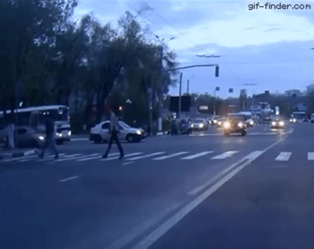 Watch and share Car-Crashes-Into-Police-Car (1) GIFs by Ryan Smith on Gfycat