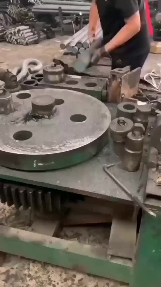 Watch and share Anchor Bolt Making Machine GIFs on Gfycat