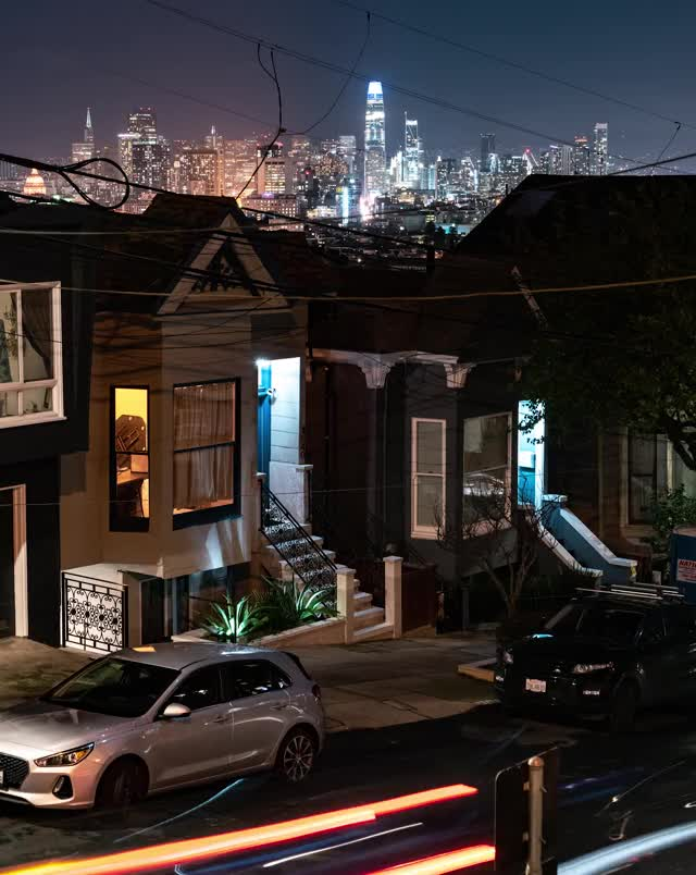 Watch and share San Francisco Light Streaks GIFs by AJ LOOPS THINGS on Gfycat