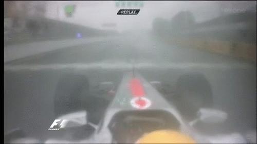 formula1gifs, Hamilton hits & spins Webber - Canada 2011. (reddit) GIFs