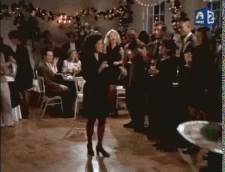 Watch and share Elaine Dancing GIFs GIFs on Gfycat