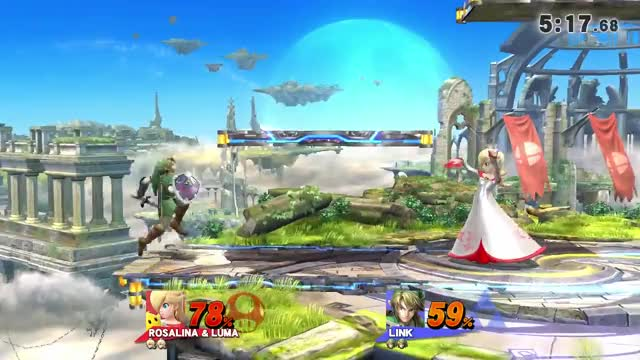 Watch and share Rosalina GIFs and Link GIFs by lordrenning on Gfycat