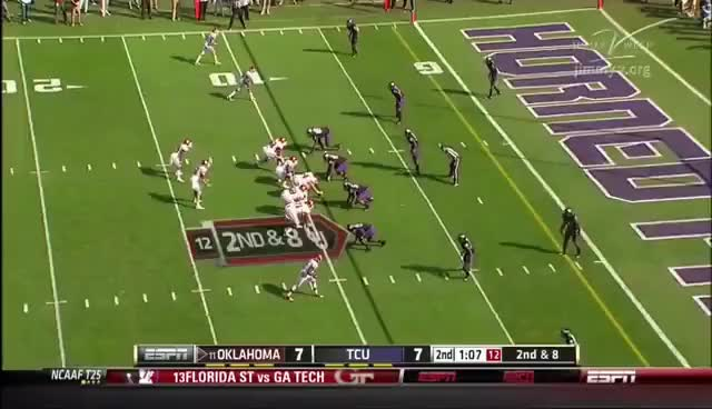 Watch Tyrus Thompson - OU Punch GIF on Gfycat. Discover more Football, Punch GIFs on Gfycat