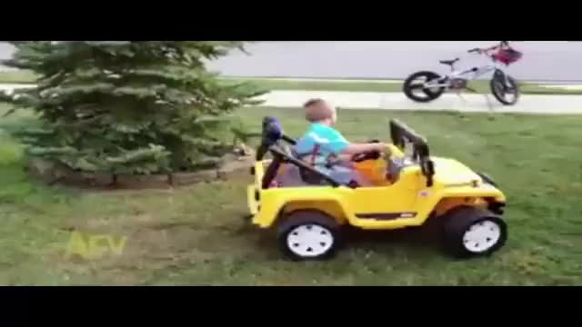 Watch and share Hummer Driver Run Over Little Child GIFs on Gfycat