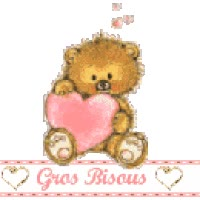 Watch and share Bisous animated stickers on Gfycat