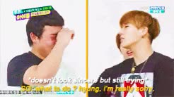 Watch and share Infinite Gif GIFs and Weekly Idol GIFs on Gfycat