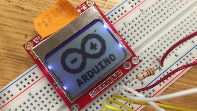 Watch and share Arduino Nokia 5110 LCD Issue GIFs on Gfycat