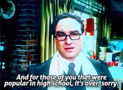 Watch and share The Big Bang Theory GIFs and Leonard Hofstadter GIFs on Gfycat