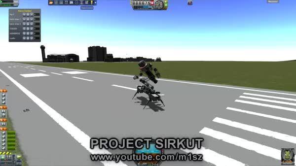 kerbalspaceprogram, Project SIRKUT's new toy: flying skate, or SKYTE!! GIFs