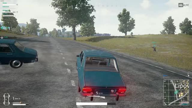 Pubg Car Crash Gif Gif Find Make Share Gfycat Gifs