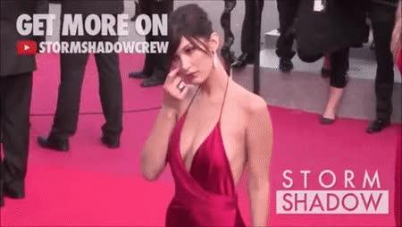 Watch and share Bella Hadid • R/gentlemanbonersgifs GIFs on Gfycat
