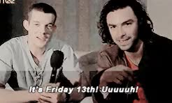 Watch and share Russell Tovey GIFs and Aidan Turner GIFs on Gfycat
