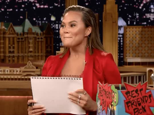 Watch this chrissy teigen GIF by The GIF Smith (@sannahparker) on Gfycat. Discover more booyah, chrissy teigen, jimmy fallon, the tonight show GIFs on Gfycat