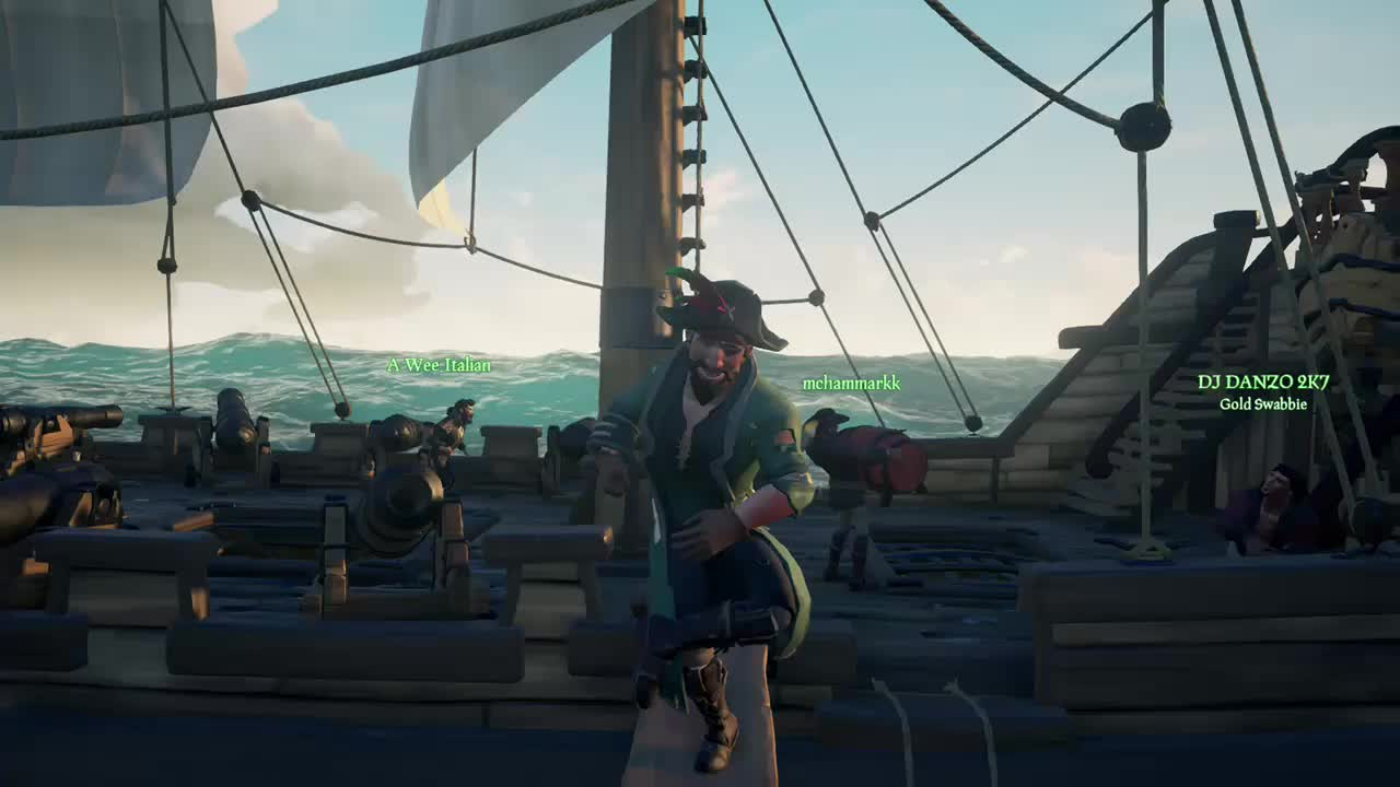 Seaofthieves, Time to dance GIFs