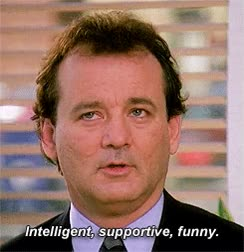 Watch and share Bill Murray GIFs on Gfycat