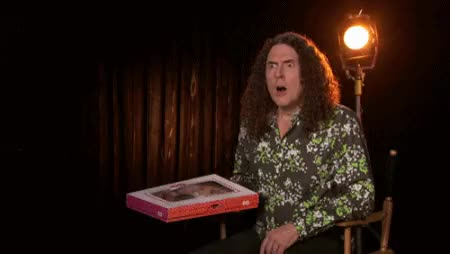 Watch OT: Weird Al Yankovic spoofs post-game pressers | mgoblog GIF on Gfycat. Discover more weird al yankovic GIFs on Gfycat