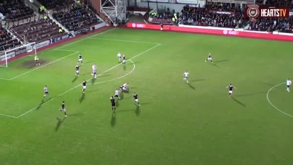 scottishfootball, soccer, Craig Sibbald with beautiful control and finish for Falkirk v Hearts (reddit) GIFs