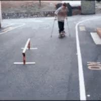 Watch and share Cripple Skateboard GIFs on Gfycat